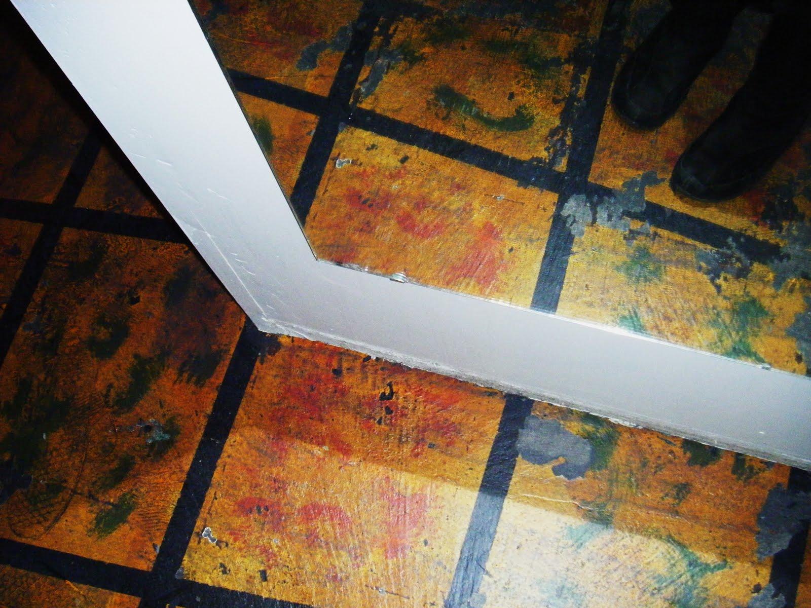Sticky Painted Floor