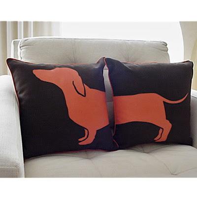 Modern Roost: Hot Dog Pillows