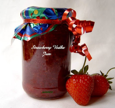 Strawberry Vodka Jam