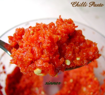 Homemade Chilli Paste