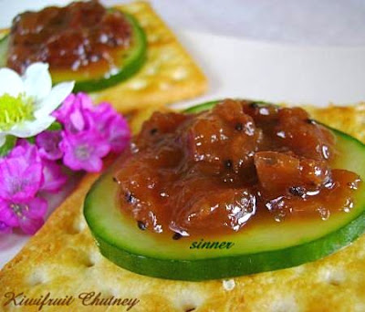kiwi fruit chutney