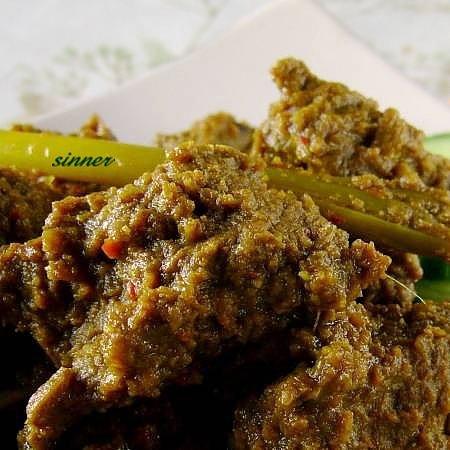 Homemade Beef Rendang
