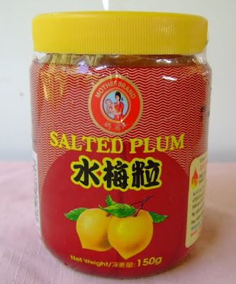 preserved salted plums
