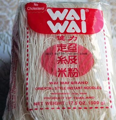Wai Wai Rice Noodles