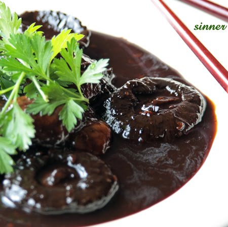 chinese braised mushroom