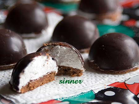 Mini Marshmallow Bombe