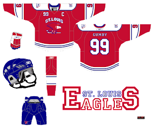 St. Louis Eagles - HockeyJerseyConcepts
