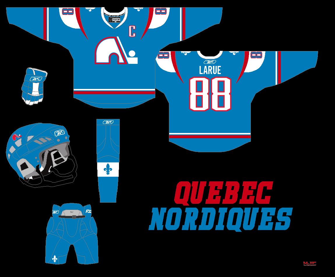 HockeyJerseyConcepts: Quebec Nordiques