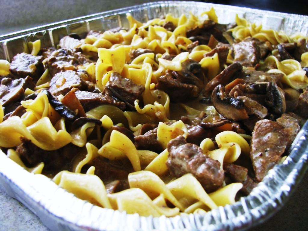 the gd kitchen: beef stroganoff casserole