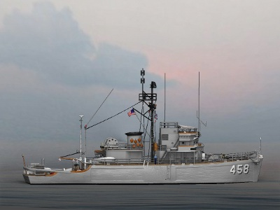 USS Lucid MSO 458