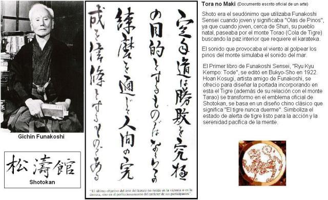 Gichin Funakoshi. Maestro Padre del Karate-Do