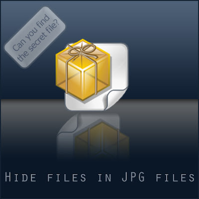 hide files, hide file behind image,how to hide files