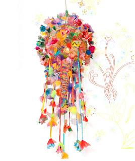 Come Rain Come Shine Lamp by Artecnica - In Multi-Color
