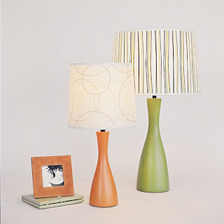 Oscar Boudoir and Oscar Table Lamp