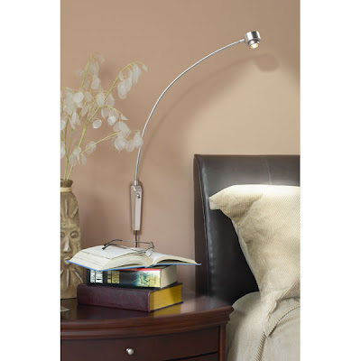 Night Owl Reading Lamp - Pinup Version - Room Installation