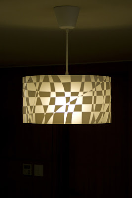 Peel Off Pendant Light