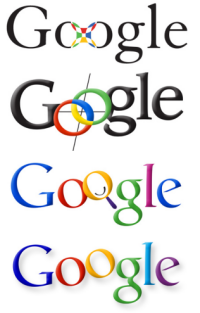 Google's logo and its