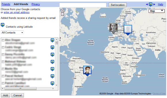 Cell phone tracking with google latitude 2014