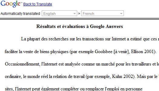 Until now, you could copy the text in Google Translate or publish the