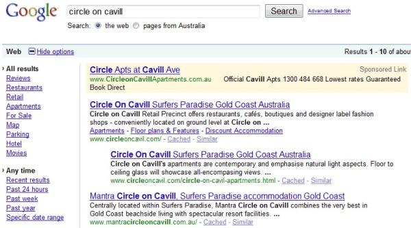 google circles homepage. google circles. google circles