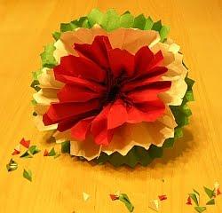 Manualidades Para Hacer Con Tus Ninos Como Hacer Flores Con Papel Crepe