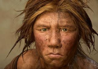 Ricostruzione aspetto Homo di Neanderthal