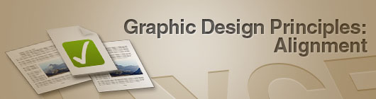Alignment in Graphic Design