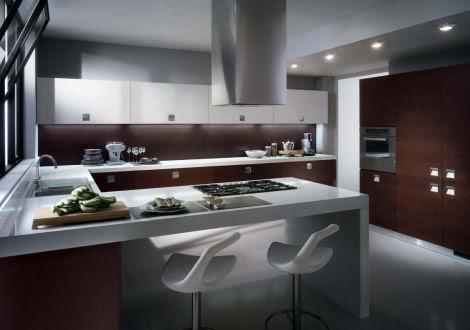Dise os de cocinas cocinas integrales muebles de cocina - Cocinas industriales baratas ...