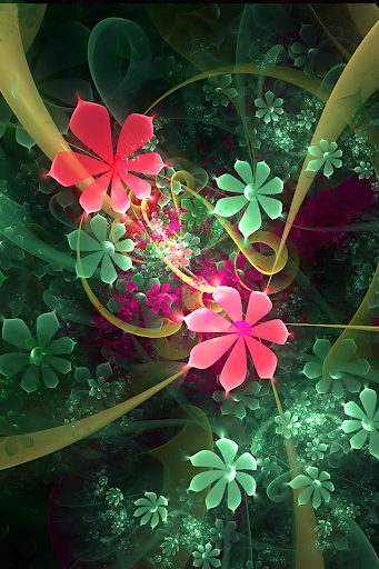 mobile wallpapers flower art iphone 4 wallpaper latest