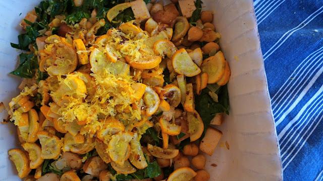 Two Blue Lemons: Heidi's Lemony Chickpea Stir-fry