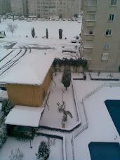 Sitede Kış