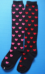 Hearts Knee-Highs > great for Valentine's Day!