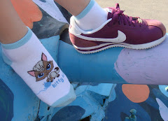 Kitty Kitty Ankle Socks