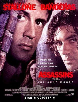 Asesinos. Antonio Banderas. El bolso amarillo