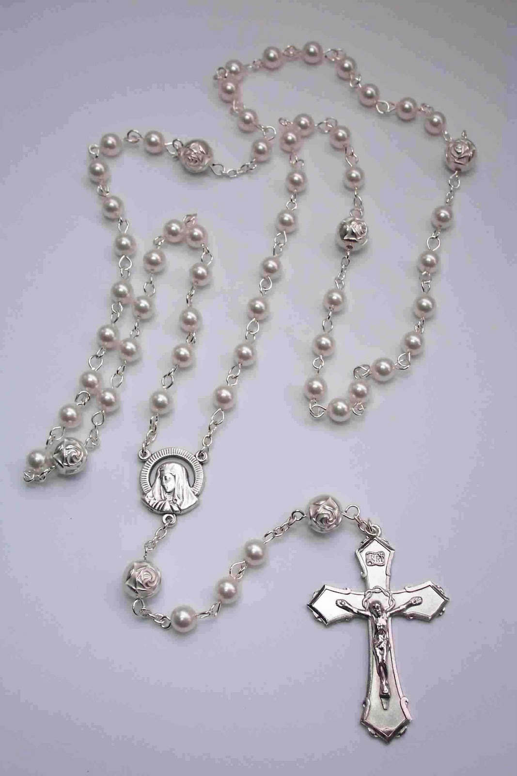 The Photo At Left Is Arranged Illustrate Order Of Beads As Used In Praying Rosary