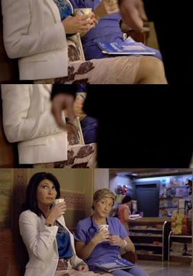 Nurse Jackie'den ufak bir hata :)