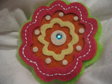 Orange Blossom Felt