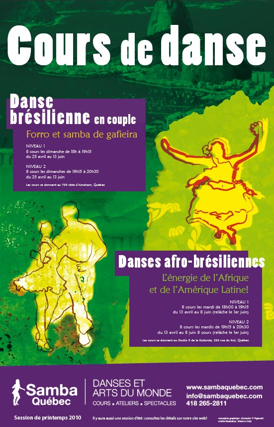 Vie d 39 un johnny affiche de cours de danse for Cours de danse de salon 92