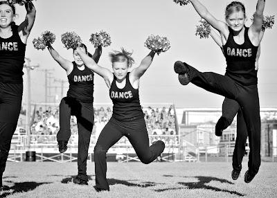 "Warren Woods Tower High School Dance Team performs at ""Welcome Back ..."