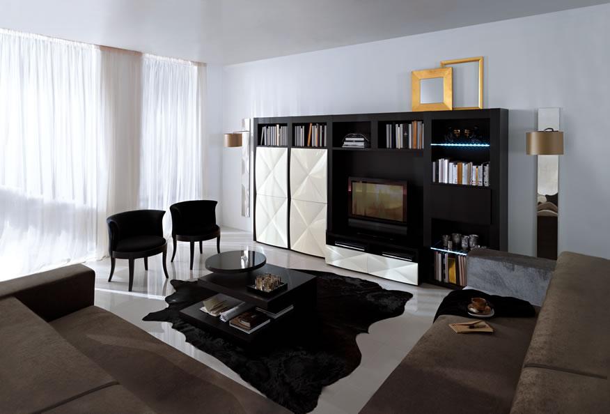 decoracao sala wengue:sala estar em wengue e lacado branco salas de estar em wengue e lacado