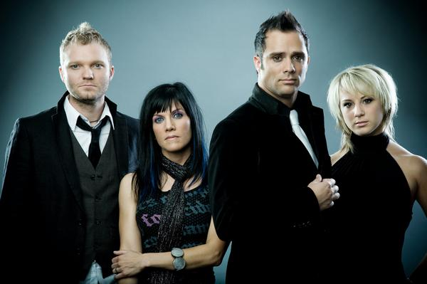 (Skillet - this band was awesome!)