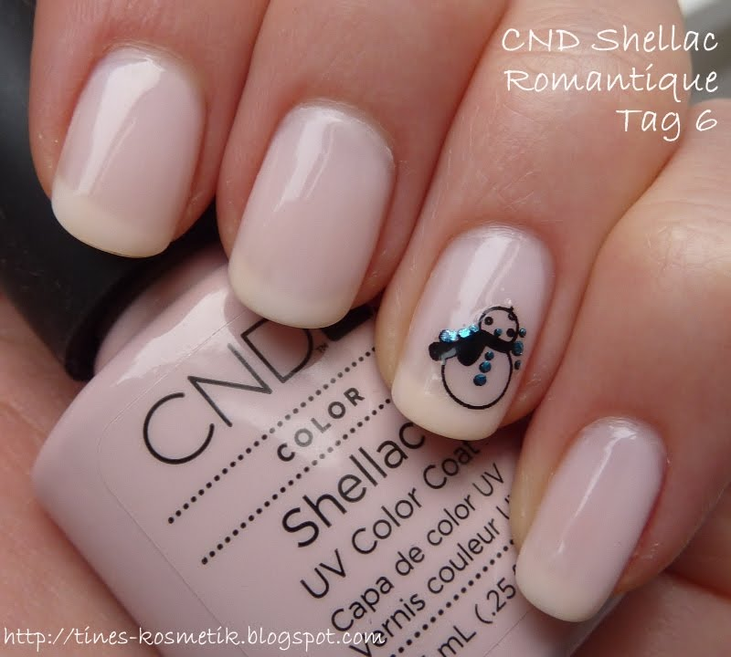 Tines Kosmetikblog: CND Shellac Maniküre - Tag 6