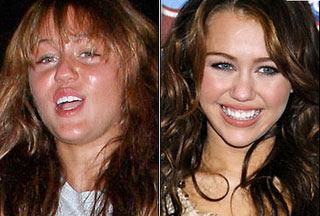 Miley Cyrus ungeschminkt