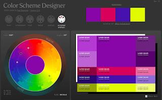 O Color Scheme Designer é Um Site Que Vai Lhe Ajudar Muito. Part 31