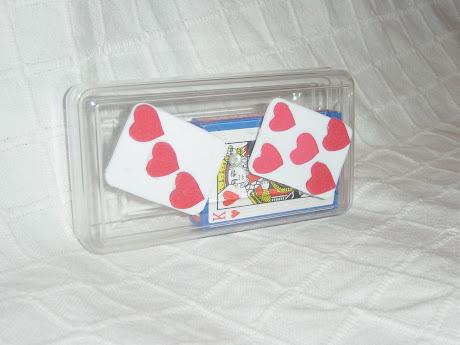 Caixinha para baralho de cartas