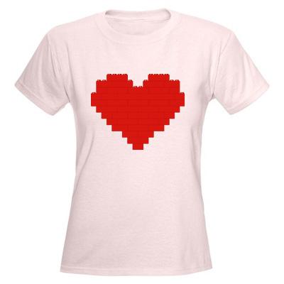 i heart lego t shirt I Heart Lego t shirt