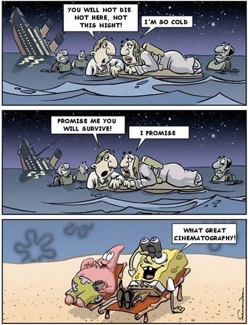 Labels: comics, dad, sponge bob, titanic