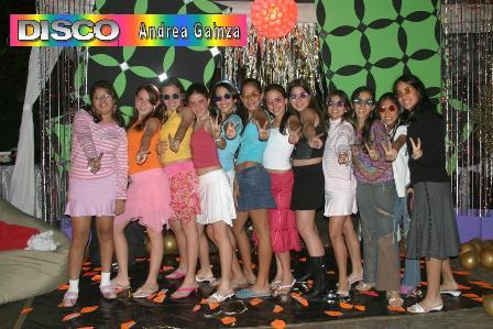 Fiesta DISCO de Andrea (12 años)