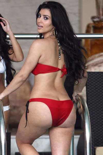 Celebrity exclusive showcase bootylicious kim kardashian for Hot images blog