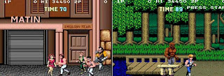 New All mobile java game -- Double Dragon 2012